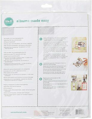 """We R Ring Photo Sleeves 8.5""""X11"""" 10/Pkg-Full Page WR660157"""