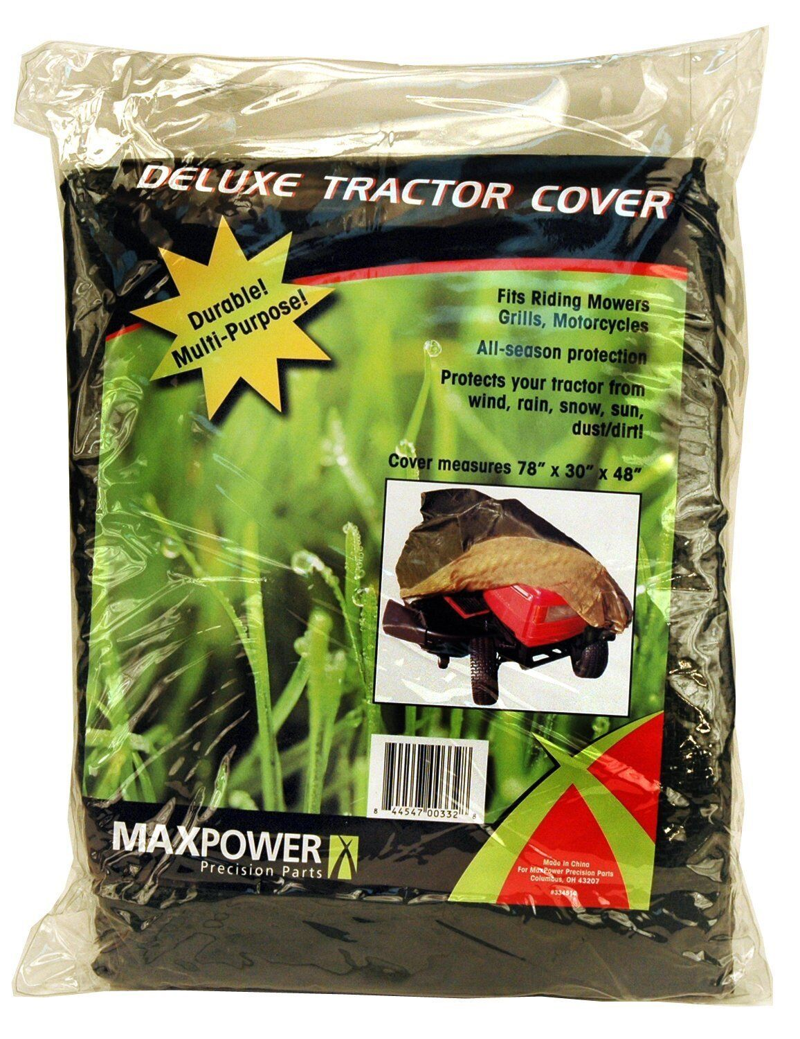 new 334510 deluxe riding lawn mower cover