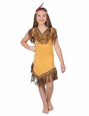Karnival Pocahontas Indianer Kinder Halloween Kostüm 83158