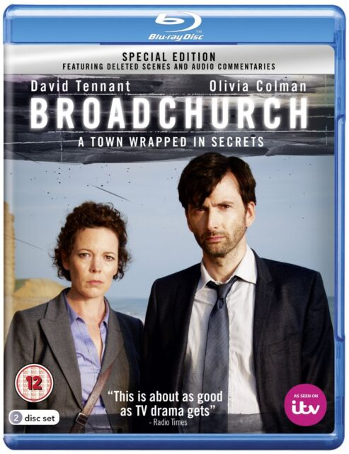 Broadchurch - Series 1 - Blu Ray - Special Edition- New - season 1 1st first one