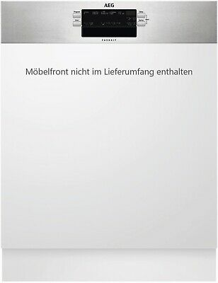 AEG FEB52600ZM Geschirrspüler integrierbar Edelstahl 60cm Breite EEK: A++