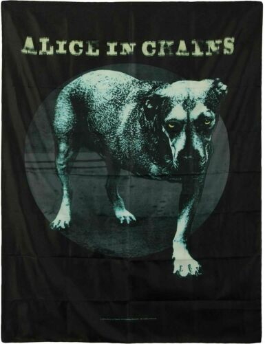 "Alice in Chains Tripod Dog Cloth Fabric Poster Flag Tapestry Banner 30"" x 40"""