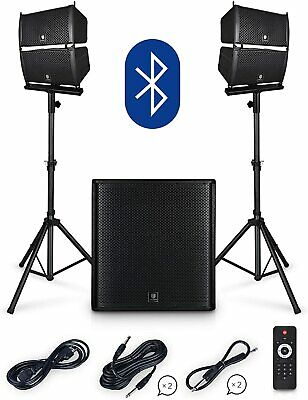 PRORECK Club 4000 18-inch 4000W P.M.P.O Stereo DJ/Powered PA Speaker System