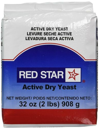 Red Star Active Dry Yeast- 2 lbs (32oz Vacuum Sealed Bag) - The Baker