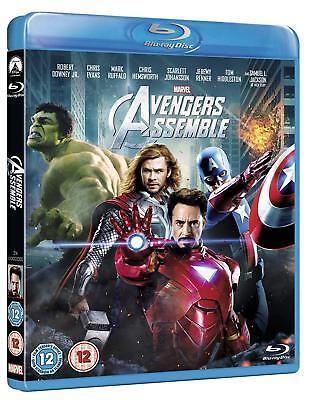 Marvel's Avengers Assemble [Blu-ray, Region Free, Hulk Captain America Thor] NEW