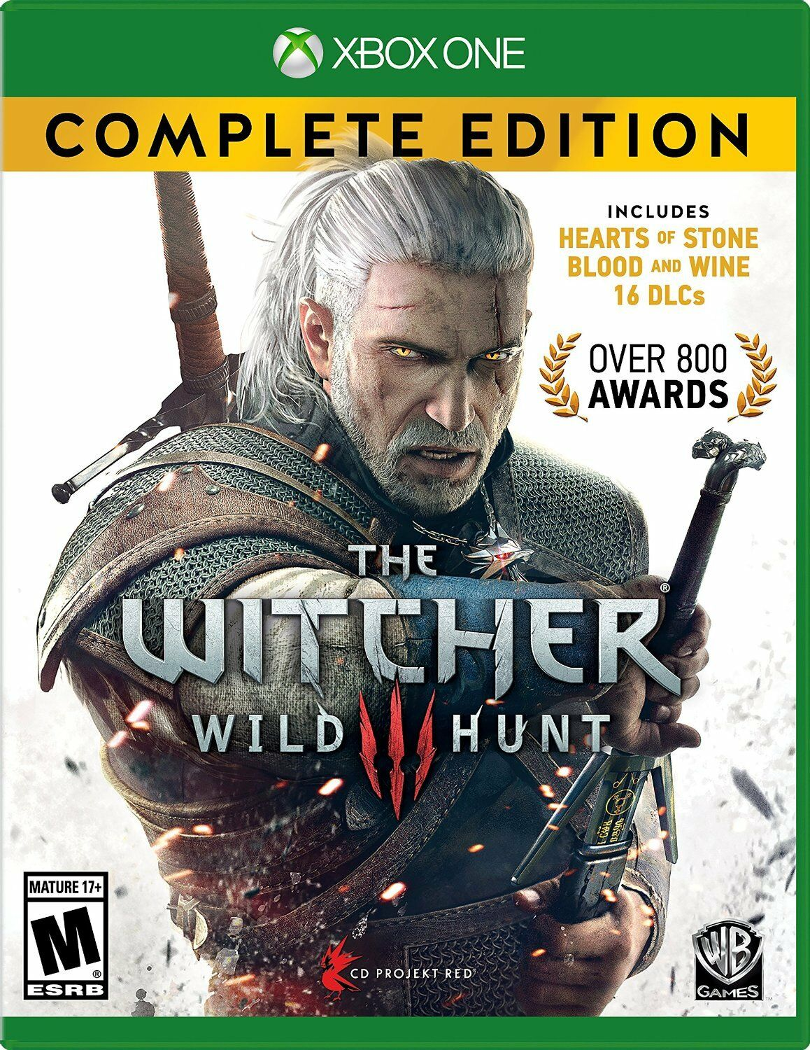 Warner Brothers The Witcher 3: Wild Hunt Complete Edition...