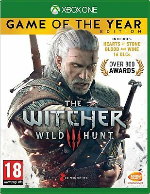 The Witcher 3 III Wild Hunt Xbox One Game of the year Complete Brand New Sealed