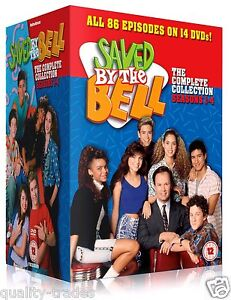 ❏ Saved by the Bell - Complete Series 1 - 4 DVD Collection ❏ Seasons 1 2 3 4