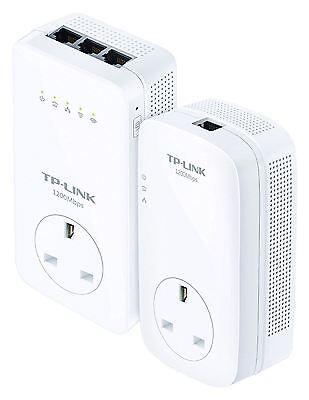 TP-LINK TL-WPA8630P KIT AV1200 Gigabit Powerline Dual Band AC1200 Wi-Fi Kit