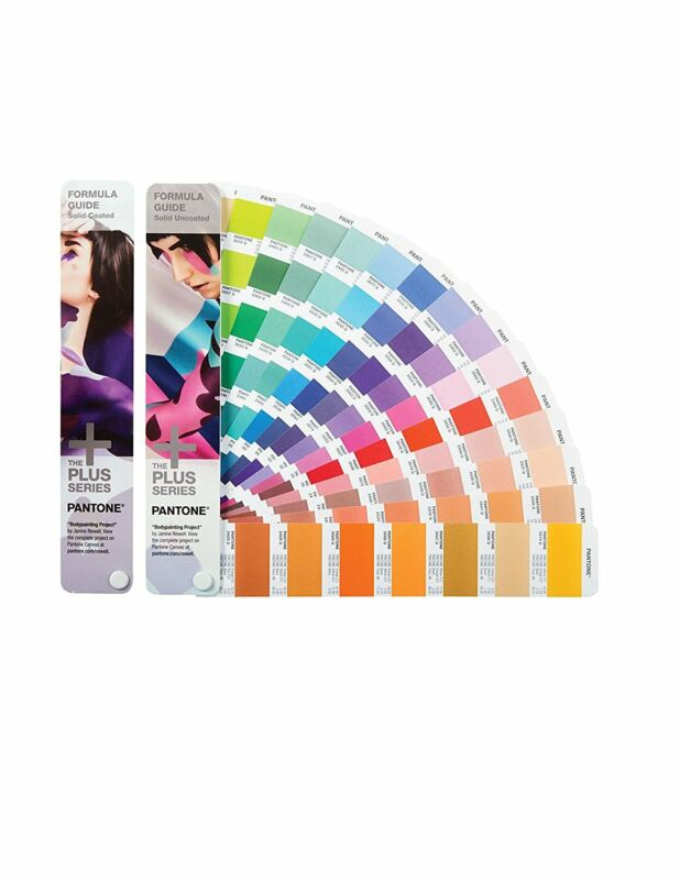 Pantone Formula Guide Set Solid Coated & Solid Uncoated GP1601N Open Box