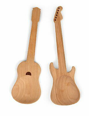 Mestoli in legno chitarra