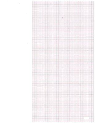 Ekg Chart Paper For Hewlett Packard Pagewriter I Ii Iii 216 X 280 X 200 Pk10