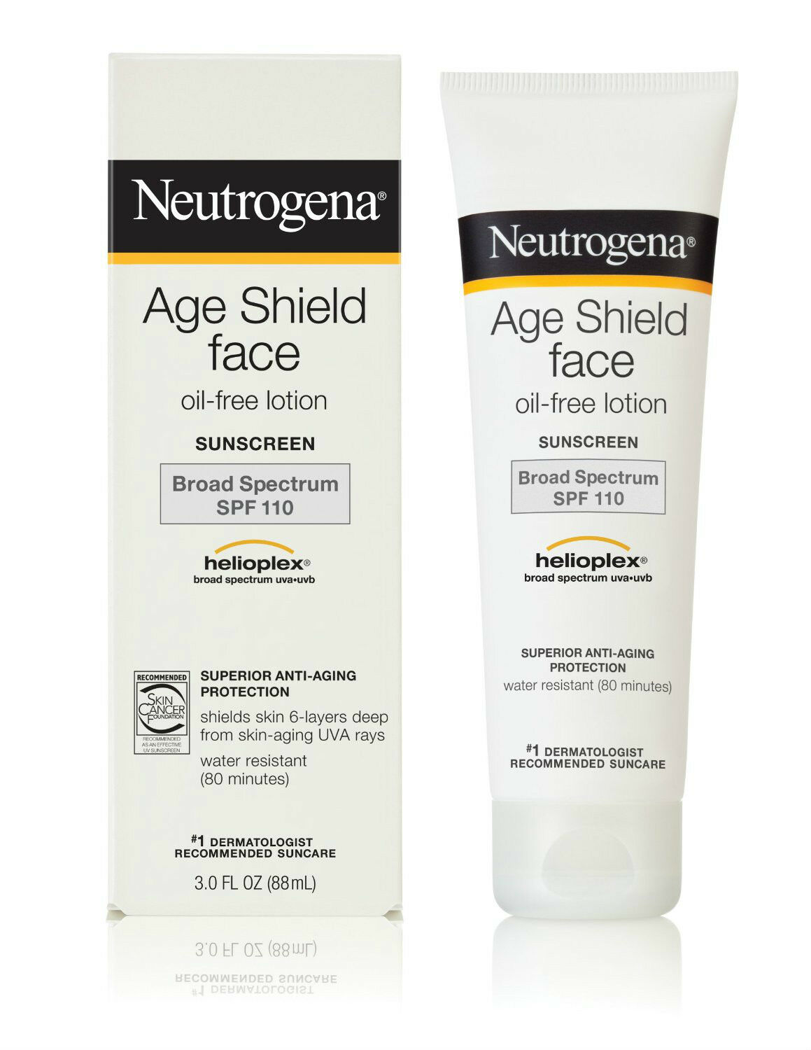 Neutrogena Age Shield Face Spf110 Lotion 3 Ounce