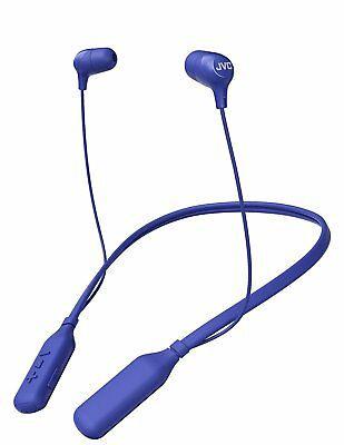 JVC Marshmallow Wireless Headphones HAFX39BTA Blue for sale  Wyandotte