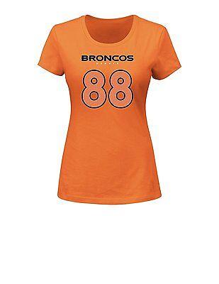 - Denver Broncos NFL Demaryius Thomas #88 Women's Player Short Sleeve T-Shirts: L