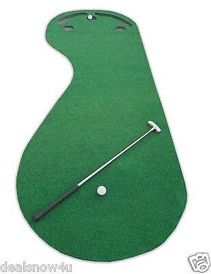 Par Three Putting Green 3 x 9 Feet Synthetic Turf Artificial Grass Golf Training