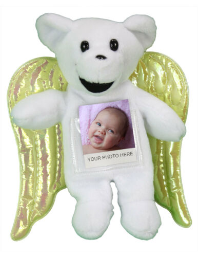 144 Angel Bears with Secret Pocket and Photo Pouch Ornament WHOLESALE LOT