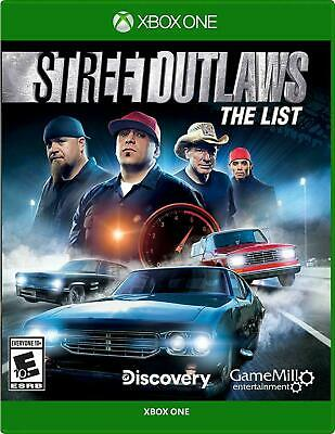 Street Outlaws: The List Xbox One, Brand New Sealed
