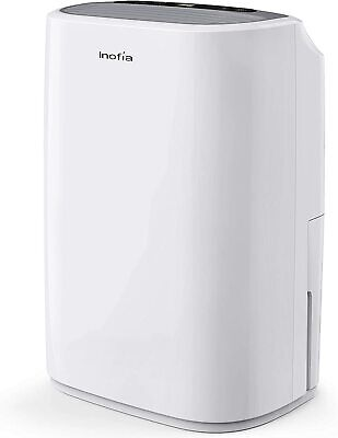 Inofia 30 Pints Dehumidifiers for Home Basements with Continuous Drain Hose