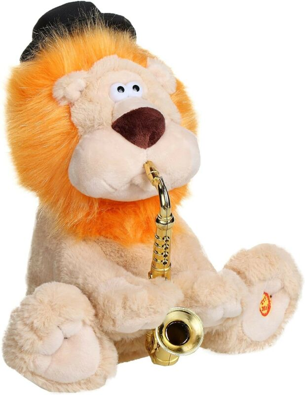 NEW Avi The Lion  Singing Stuffed Plush Toy  Jewish musical 7/40