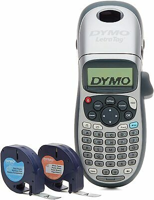 Dymo Letratag 100h Plus Handheld Label Maker With 2 Label Rolls