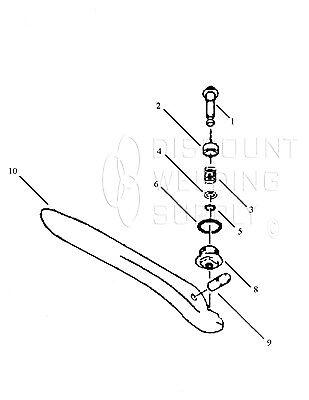 Repair Kit- Victor H.p. Oxygen Cutting Valve Series 1100 Torch Vic 0390-0043