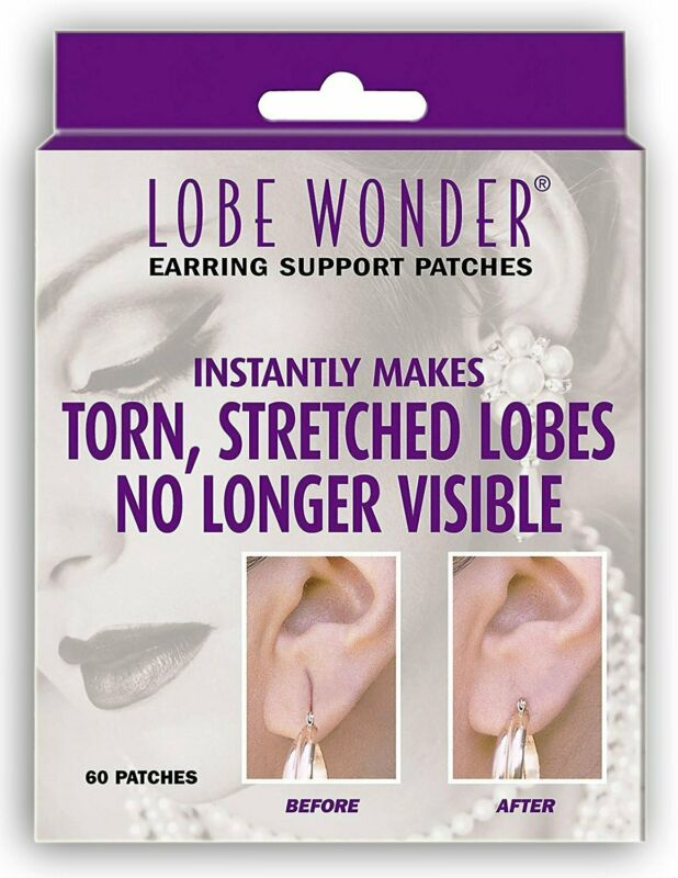 Lobe Wonder Ear Lobe Support Patches- 60 ct