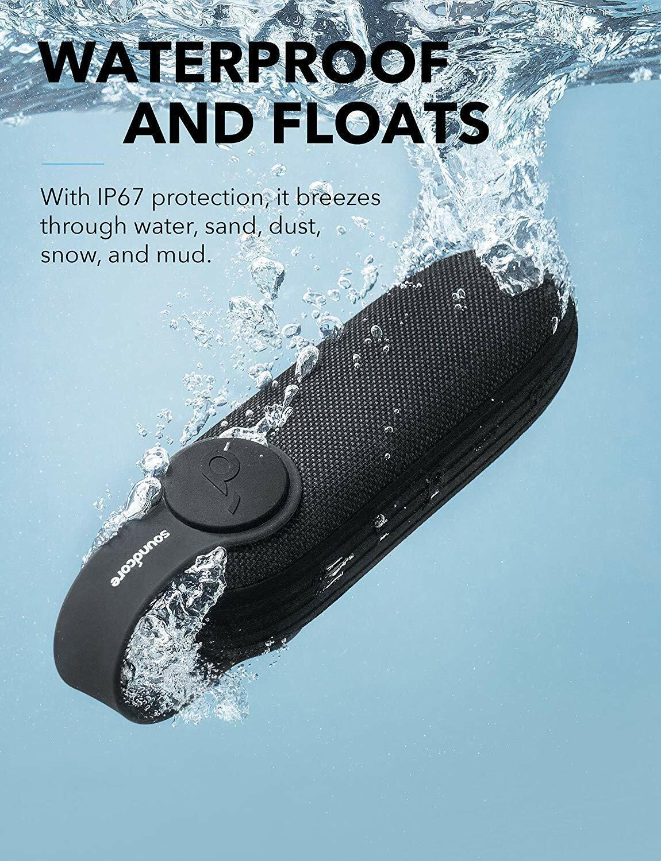 Soundcore Icon by Anker, Bluetooth Speaker, Waterproof Porta