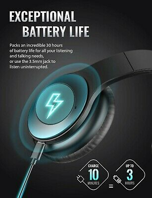 Tribit QuietPlus Active Noise Cancelling Headphones - 5.0 Bluetooth Headphone...