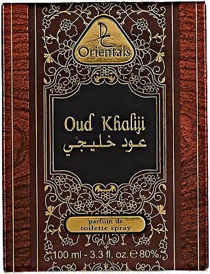 Oud Khaliji Agarwood Perfume De Toilette Unisex 100 ml Dorall Orientals NIB comprar usado  Enviando para Brazil