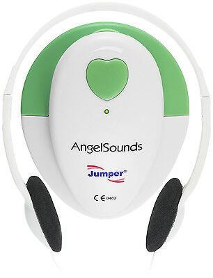 Angelsounds Fetal Doppler Jpd-100s Baby Heart Monitor Fda Approved Usa Green