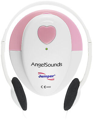 Angelsounds Fetal Doppler Jpd-100s Baby Heart Monitor Fda Approved Usa Pink