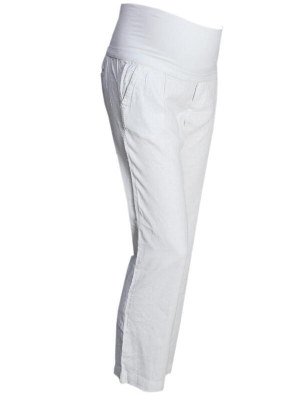 5a14022e9cadc Maternity Linen Trousers | eBay