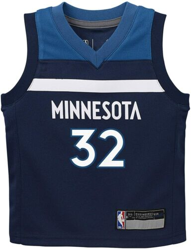 NBA BRAND - Minnesota Timberwolves Towns Kids Replica Jersey, Navy, Y-M, NWT