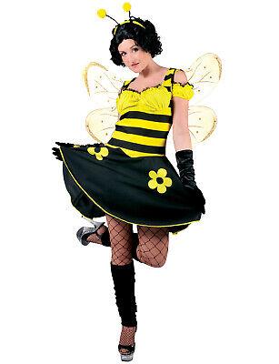 Hummel Kostüm 2 Stück Gelb & Schwarz Poly Kleid & Antenne Stirnband (Kostüm Antenne)