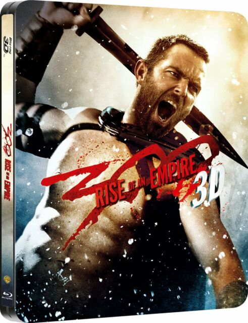 300 - Rise Of An Empire (2D & 3D Blu-Ray Steelbook) (C-15)