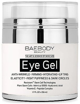 Baebody Eye Gel for Dark Circles, Puffiness, Wrinkles and Bags - The Most Eye -