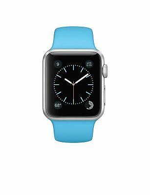 Apple Watch Series 3 42mm Silver Case with Blue Sport Band (GPS + Cellular)