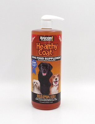 Healthy Coat Dog Food Supplement For Shedding Itching Hot Spots 32oz