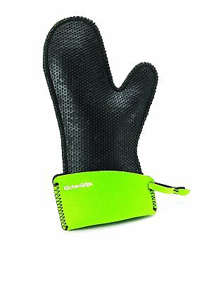 KitchenGrips Chef Mitt Oven Glove Womens Fitted Lime