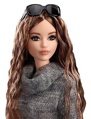 Barbie The Look Sweater Dress Doll 2017 Glamour City Chic Style
