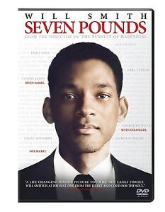 Seven Pounds (DVD, 2009, Widescreen) Will Smith BRAND NEW SEALED!!!