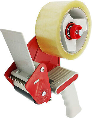 Heavy Duty Tape Gun Dispenser Packing Machine Shipping Grip Sealing Roll Cutter