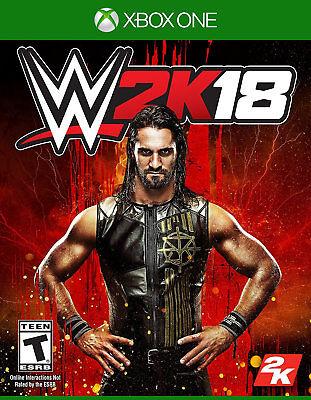 WWE 2K18 Xbox One [Factory Refurbished]