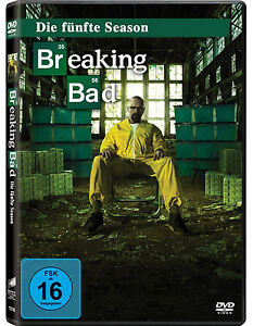 3 DVDs * BREAKING BAD - STAFFEL / SEASON 5 # NEU OVP