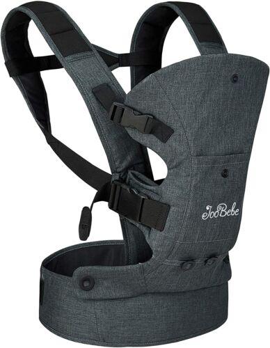 JooBebe 4 in 1 Front Back Baby Carrier/ Ergonomic Hands-Free Infant Holder