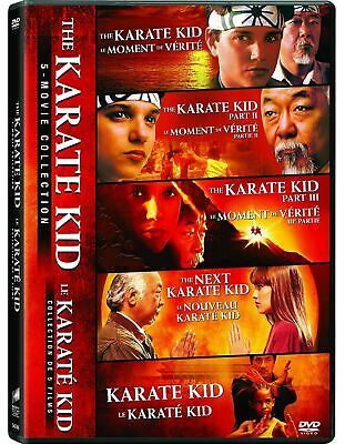 The Karate Kid 5-Movie Collection [DVD Box Set Cobra Kai Jaden Smith] NEW