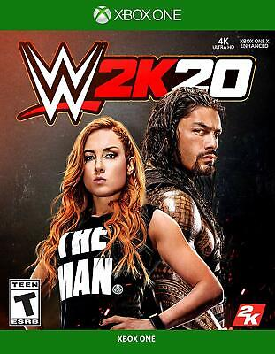 WWE 2K20 -- Standard Edition  Microsoft Xbox One Game Sealed New