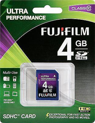 Misc Fujifilm 4 GB SDHC Class