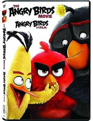 The Angry Birds Movie (Brand New DVD, 2016)